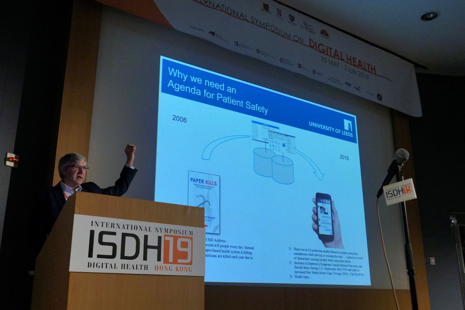 Digital Innovation for Patient Safety, on the international stage